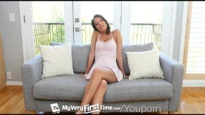 MyVeryFirstTime - Huge black cock might be too much for Brooke Myers