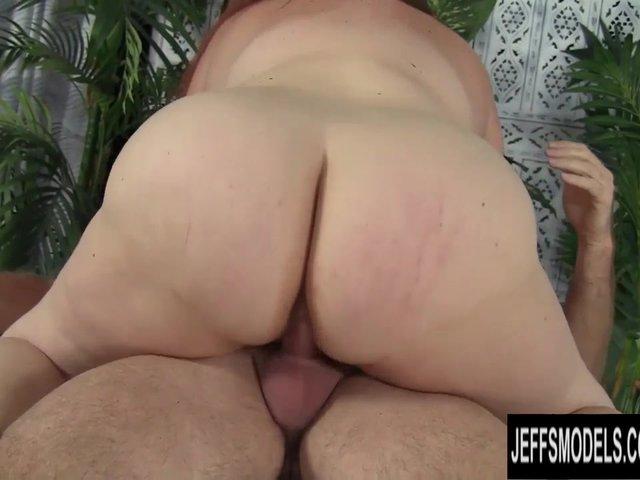 Bbw tries anal