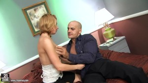 Romance With Charming Blonde Lexi Belle