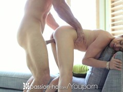 Passion-HD - Blonde bombshell Corinne Blake is fucked by her man