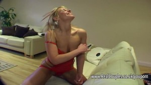 Husband toys and dominates his wife