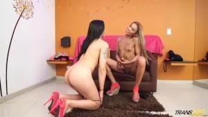 2 Sexy Transsexuals Exploring