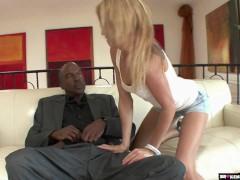 BrokenTeens - Big Black Cock Vs Teen Stepdaughter