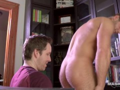 Maskurbate JP Sucked In Pascal's Office