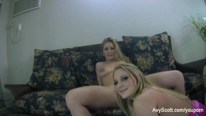 Avy Scott and Aurora Snow Home Vid