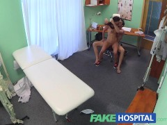 Picture FakeHospital Couple fuck in empty doctors of...