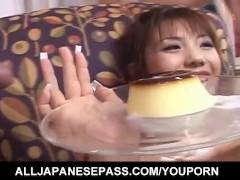Picture Mei Amasaki busty eats sperm