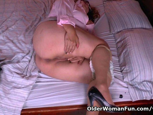 What is granny maribel hiding in her panties