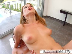 Picture Allinternal Victoria Daniels gets an anal cr...