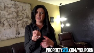 PropertySex - Southern accent realtor sex with her client
