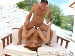 AssTraffic Ass to mouth play for hot babe Victoria Daniels