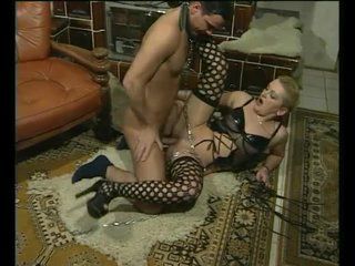 Bigass Blonde Bondage video: Chained and fucked - Julia Reaves