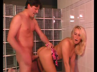 Doggystyle Assfucking Smallboobs video: Good Ole Bathroom Fuck - Julia Reaves