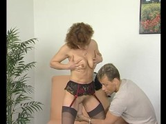 Picture Fingering that shaved MILF pussy - Julia Rea...