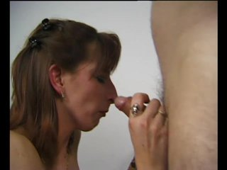 Brunette Cumshot Doggystyle video: Gulping Down That Cock - Julia Reaves