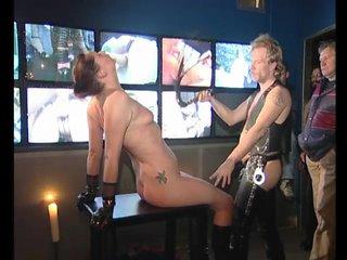 Brunette Milf Dildo video: The BDSM Room - Julia Reaves