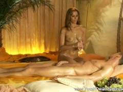 Picture Smooth Massage Sensation for a Huge Cock