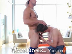Picture ManRoyale - Straight Stud Aspen Goes Deep in...