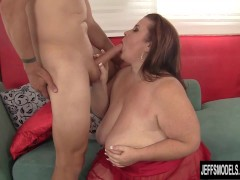 Mature BBW slut lady Lynn hardcore sex