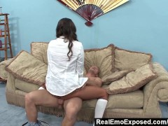 RealEmoExposed - Nasty Emo Swallows a Mouthful
