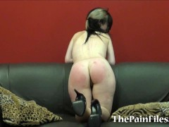 Picture Kinky spanking and rough blowjob of dominate...