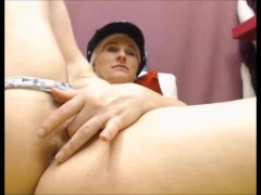 Naughty police woman can't get enough