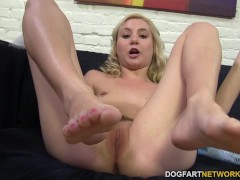 Picture Odette Delacroix rubs big black cock with he...