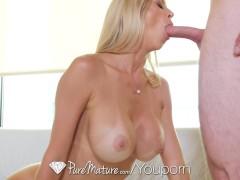 Picture PureMature - Tall blonde milf Alexis Fawx fu...