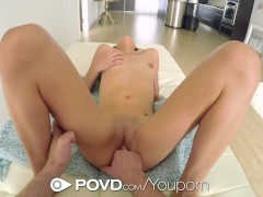 Picture POVD - Kristina Bell show her dick sucking s...