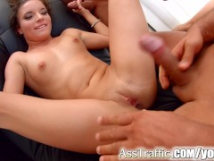 Picture Petite Anita Bellini anal 5 guy gangbang on...