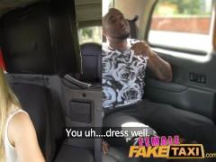 Picture FemaleFakeTaxi Creampie from black guy, chea...