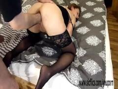 Hot amateur babe brutal fisting in bondage