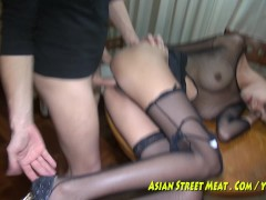 Skank Asian Wenchith Wobbly Tits