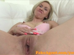 FakeAgent Mature amateur in casitng interview