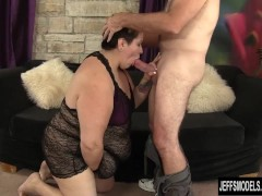 Picture Horny mature BBW Bonita gets fucked hard