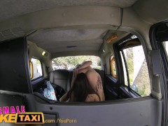 FemaleFakeTaxi Hungarian babe gets down and dirty