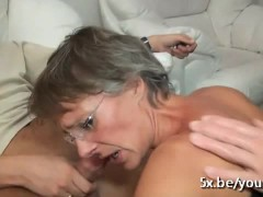 Picture Intense gangbang with a good French mature