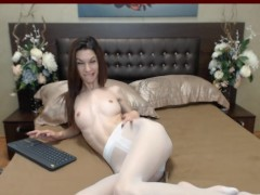 Picture Pantyhose cam show with lovely KandyJoy