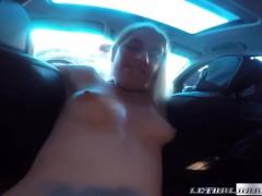 Picture Young Girl 18+ Niki Snow fucks uber driver b...