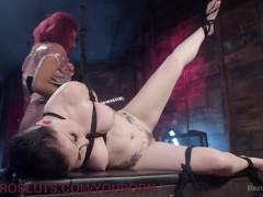 Picture Electrifying Lesbian BDSM