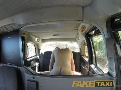 Picture FakeTaxi Horny couple have random sex