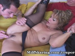 Picture Excited Young Guy Fucks Wife