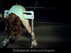 Picture Submissive Slave Julie Skyhigh Fucked In Bds...