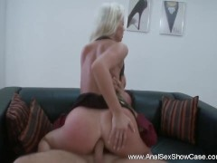 Picture European MILF Tries Deep Anal Sex