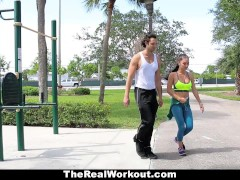 Picture TheRealWorkout- Hot Babe Hardcore Fucked Aft...