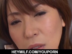 Picture Asian milf, Jun Kusanagi, gets young male to...
