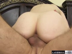 Picture Young Girl 18+ Lily Radar gets spanked and f...