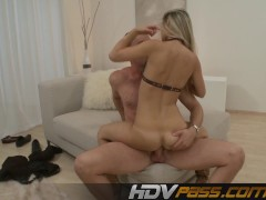 Picture Blonde babe Sabrina fucks with passion.mp4