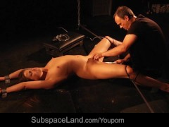 Picture Good bondage slave mouth dirty of cum in bds...