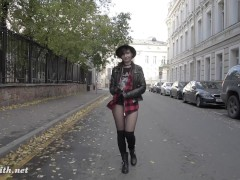 Picture Jeny Smith pantyhose fire walking